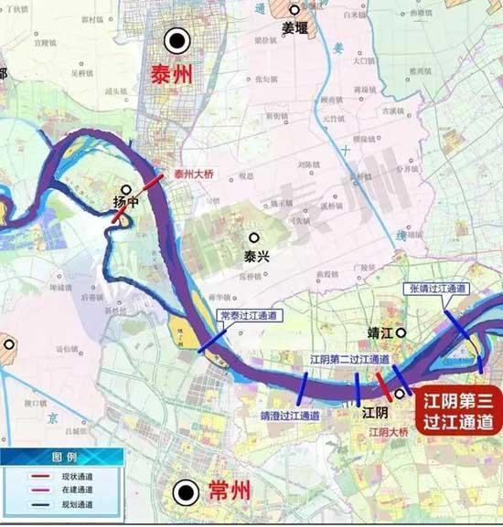 江苏省最新高速路网规划发布