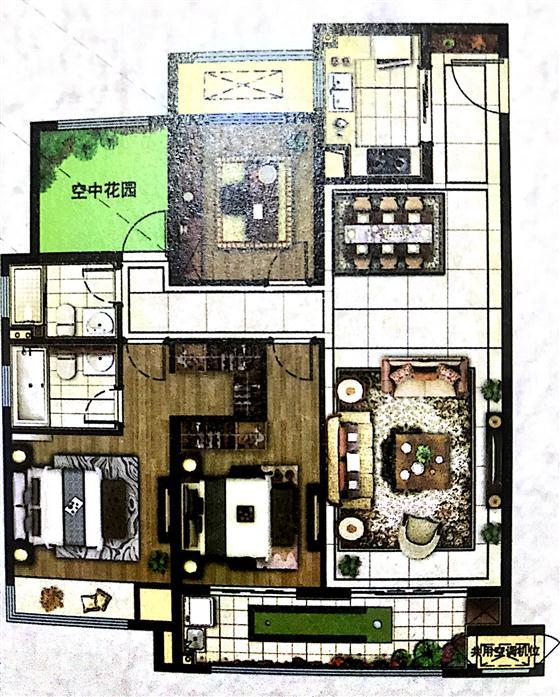 新城金郡区府旁118-143m²科技精奢豪宅